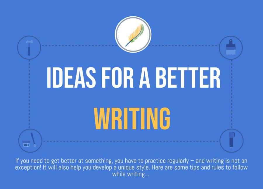 ideas for better writing