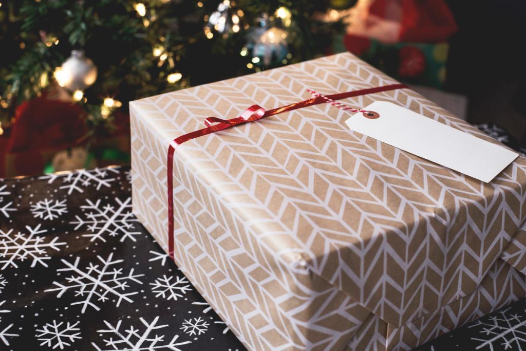golden box for gift